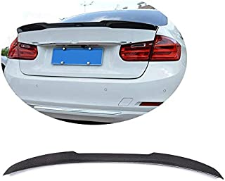 MCARCAR KIT Trunk Spoiler fits for BMW 3 Series F30 2012-2019 F80 M3 2014-2019 Facctory Outlet Real Carbon Fiber CF 320i 3...