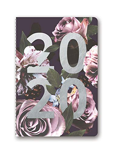 Floral Expressions On Time Weekly Planner 2020