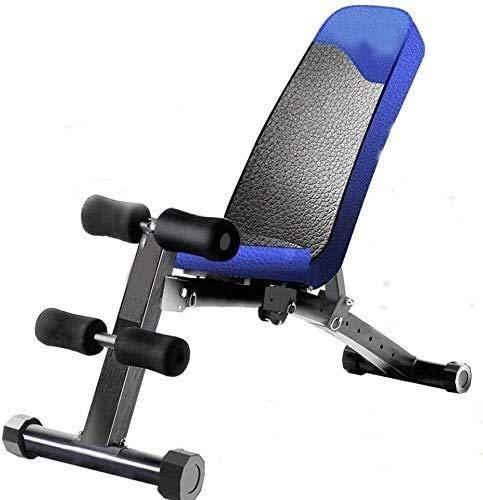 Krafttraining-Multiuse Einstellbare 90 ° Gewicht Sitzbank, Steigung / Gefälle Verstellbare Flach Workout Bench, Maximum Tragfähigkeits 220 Lbs, for Ganzkörpertraining und Fitnesstraining, Schwarz,