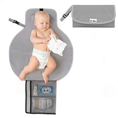 Zooawa Portable Diaper Changing Pad Mat...