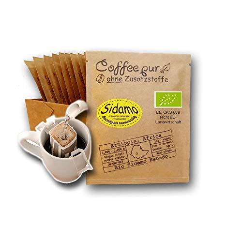 Life is You! Coffee Bags   (BIO) Kaffee Sidamo aus den Waldgärten in Äthiopien   15 Coffee Bags (für Becher)   handgerösteter Filterkaffee zum Aufbrühen   Aus