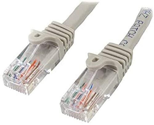 StarTech.com 7 m Cat5e Ethernet nätverkskabel med RJ45, Cat 5e UTP-kabel, grå