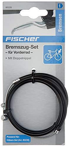 FISCHER Bremszug-Set für Vorderrad mit Doppelnippel