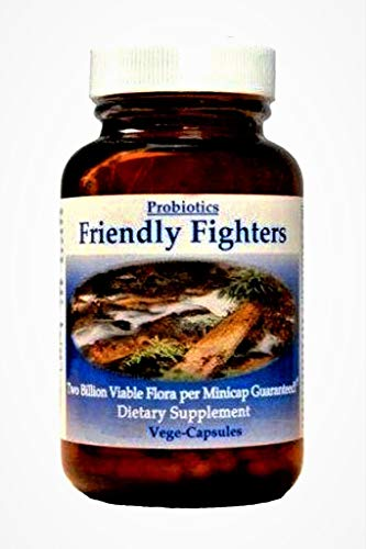 Friendly Fighters Pro® Micro Encapsulated Probiotic 90 Capsules