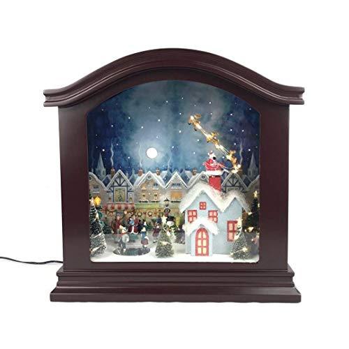 Mr. Christmas Mantel Spieluhr, Weihnachtsdekoration, Braun