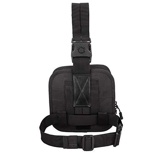 Yalatan Taktische Beintasche, Oberschenkel Tasche Erste-Hilfe-Kit Jagd Tasche Taille Tasche, Männer Outdoor Taktische
