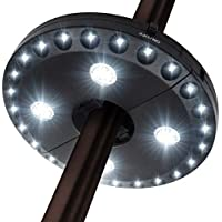 Forlivese 28 LED Patio Umbrella Light with 3 Lighting Modes