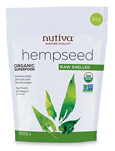 Nutiva Organic Raw Shelled Hemp Seeds