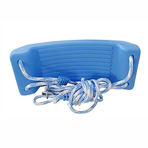 Columpio Kit de Swing de niños Ligero y Duradero para niños Silla Colgante de jardín Interior, fácil de Instalar (Color : Blue 2)