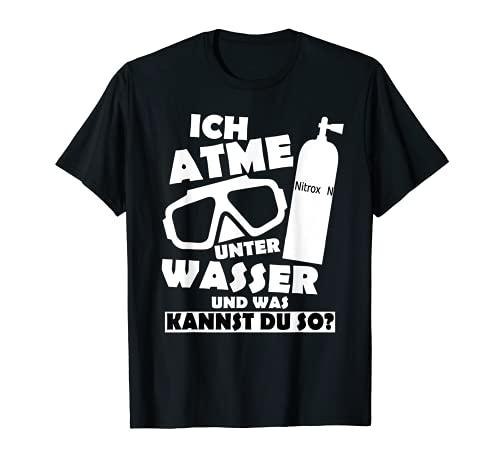 Taucher Design Lustiger Scuba Diver Herren Spruch Geschenk T-Shirt