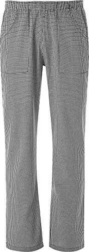 JOBLINE Pantalone Coulisse con Tasche Pied DU Poule tg. XL