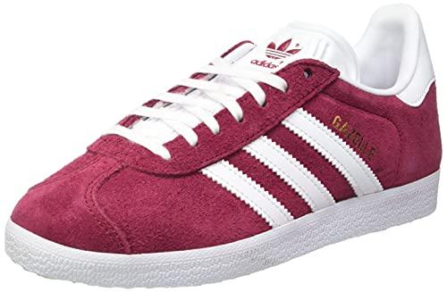 Adidas Gazelle, Zapatillas Hombre, Rojo (Collegiate Burgundy/Footwear White/Footwear White 0), 43 1/3 EU