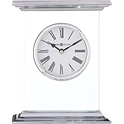 Howard Miller Clifton Table Clock 645-641 – Modern Glass with Quartz Movement