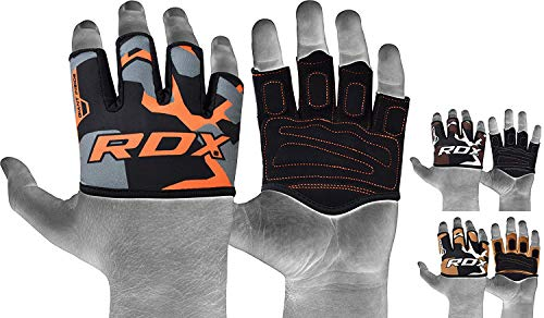 RDX Weight Lifting Gym Grips Great for Strength Training, Powerlifting, Bodybuilding, Gymnastics, Workout and Xfit Exercise