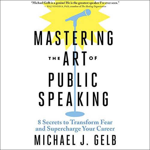 Couverture de Mastering the Art of Public Speaking