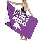huibe Unisex Puedo Resistir Todas Las Cosas Excepto la Toalla de baño de Judo Toallas de...
