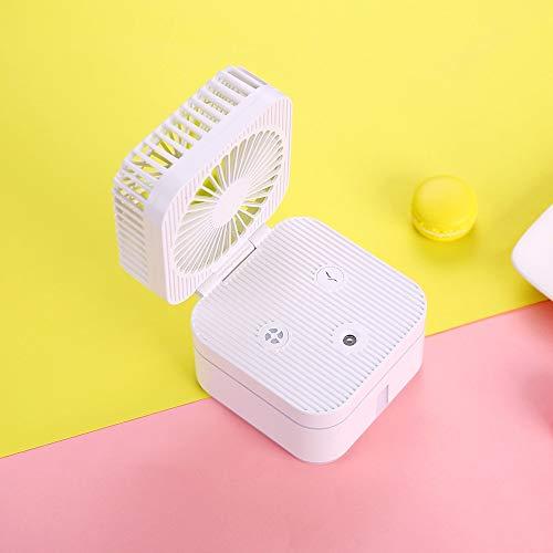 Spray umidificazione Ventilatore, Mini Usb Desktop umidificatore, silenzioso carica, Essenziale Estate Artefatto, con cavo USB, ultra-silenzioso, regolazione Tre Gear, Macaron colori ( Color : B )