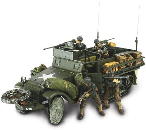 Unimax 432380063 - US M3A1 Half-Track, Normandie 1944, 1 32