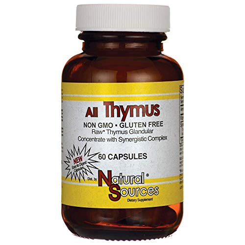Natural Sources All Thymus 60 Tablets