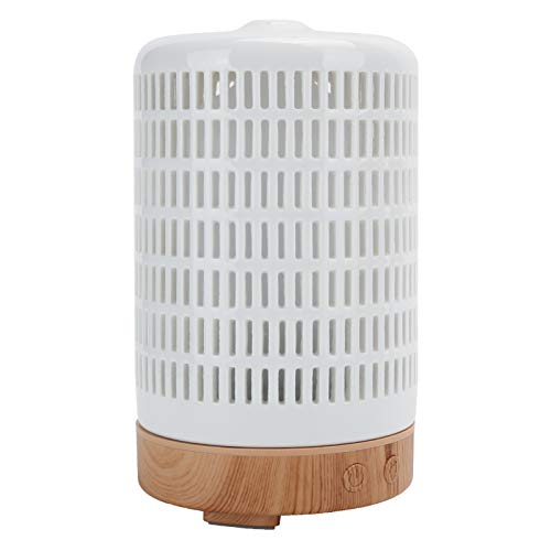 Difusor de Aceite Esencial, humidificador ultrasónico, máquina de aromaterapia EU 100‑240V Electrodomésticos 100ml para Dormitorio Sala de Yoga Oficina en casa