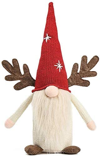 Valentine Beauty products Gnome 2021 Ornaments New sales Easter H Snowflake Red Christmas