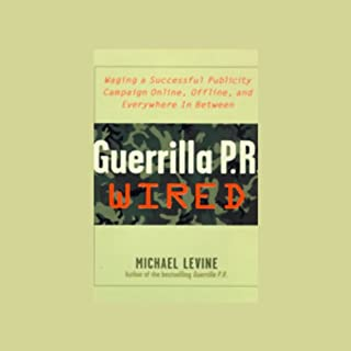 Guerrilla P.R. Wired audiobook cover art
