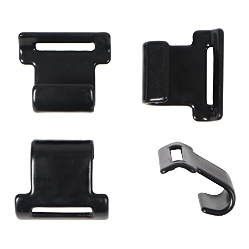 Rightline Gear Replacement Car Clips - Attach Car Top Carriers WITHOUT A Roof Rack