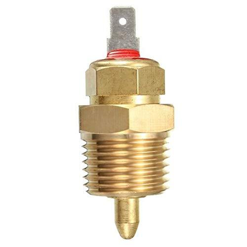 NICOLIE Interruptor De Temperatura del Termostato del Ventilador De Enfriamiento del Motor Eléctrico De 175 A 185 Grados 3/8 '' Npt