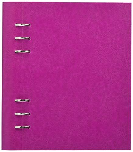 Filofax Clipbook Notizbuch, A5, nachfüllbar–Fuchsia