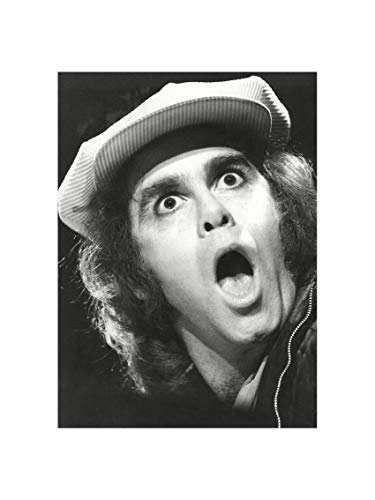 Elton John - Very Young Singer at a Live Concert Leningrad Russia 1979 Print 60x80cm