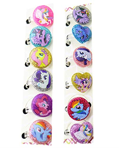 Kerr's Choice Pony Rings Party Favors Party Supplies My Pony Birthday Party Favors (12 Pieces)