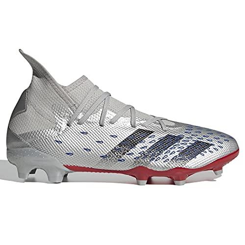 adidas Predator Freak .3 FG - Silver-Royal-Red 13