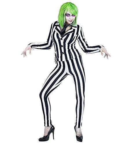 Panelize Beetlejuice Ghost Geist Halloweenkostüm Lottergeist (M)