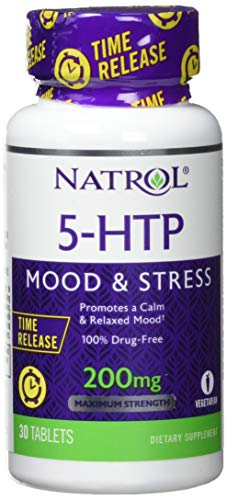 Natrol 5-HTP 200 mg Time Release (30) Standard, 15 g