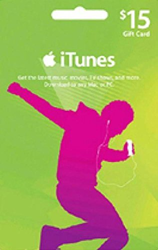 iTunes $15 Gift Card Product Key/Digital Code (Same Day Delivery)