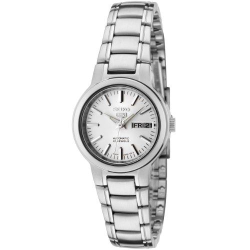 Seiko Watches SYME39K1 - Reloj de Pulsera Mujer, Acero Inoxidable, Color Plata