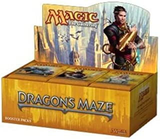 Game / Play Magic the Gathering (MTG) Dragon's Maze Booster Box (36 Packs). Trading, Collectible, Toy, Exchange Toy / Child / Kid