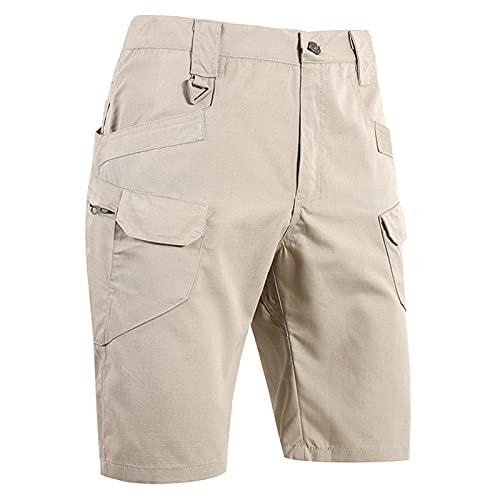BUYAOBIAOXL MTB Hose Herren kurz MTB Hose Herren Radhose,Outdoor Sport Radlershorts, Schnelltrocknend Mountainbike Radlerhose, Atmungsaktiv Bike Shorts (Color : B, Size : H(5XL))