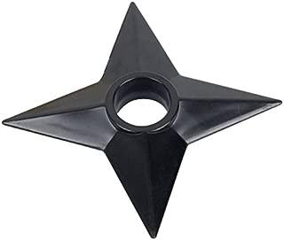 Oliasports Naruto Shuriken Throwing Star Real Size Plastic Costume (3 Pieces)