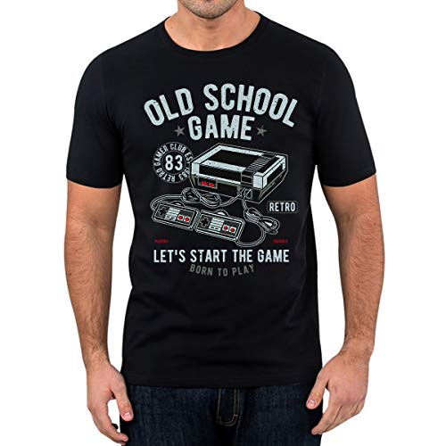 Elbster - T-Shirt Old School Gaming (S)