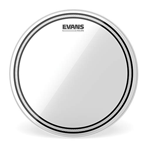 """Evans TT16EC2S Accesorios para Batería, 13"""", Transparente"""