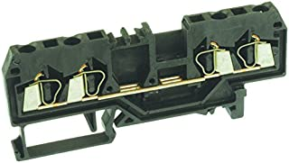 WAGO 280-831 280 Series 4 Position AWG 28-12 Cage Clamp Terminal Block - 100 item(s)