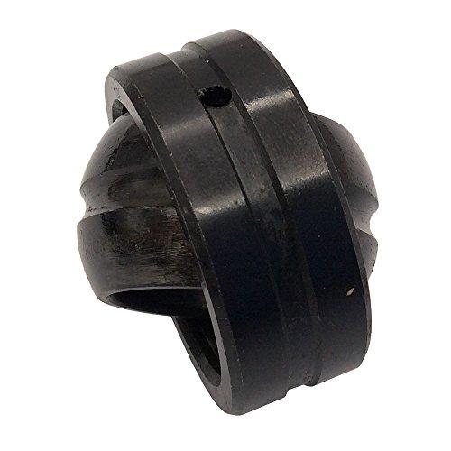 1Pcs GE40ES Spherical Plain Rod End Joint Bearing Inner Diameter 40mm Bearing Steel Black