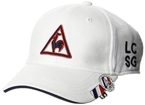[ルコックスポルティフゴルフ] 【20年秋冬モデル】帽子 QGBPJC01 メンズ WH00(ホワイト) 日本 F (FREE サイズ)