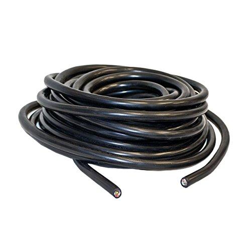 ALEKO TC71450 Heavy Duty 14 Gauge 7 Way Conductor Wire RV Trailer Cable Cord, 50'
