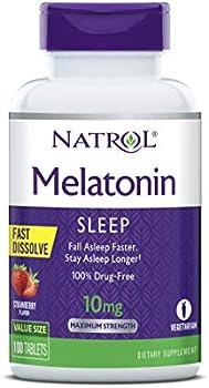 100-Count Natrol Melatonin Fast Dissolve Tablets