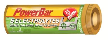 PowerBar 5 Electrolyte Tabs 5 Röhrchen x 10 Tabletten Mango-Passionfruit