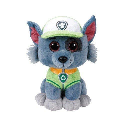 TY 96323 Dog Aladdin Paw Patrol, Rocky 24cm, grau