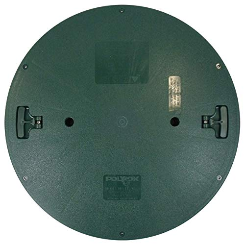 Polylok 3008-RC Septic Tank Riser Cover, 24-Inch, Green
