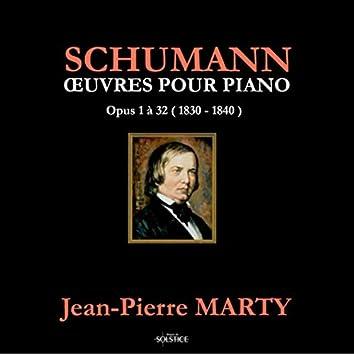 Schumann: Piano Works Op. 1 to Op. 32